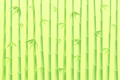 10 tło bambusowy eps ilustraci wektor Fotografia Royalty Free