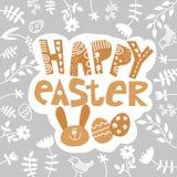 t?o barwi?cy Easter jajek eps8 formata czerwony tulipanu wektor E royalty ilustracja