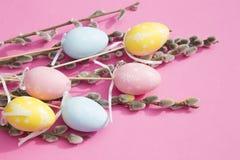t?o barwi?cy Easter jajek eps8 formata czerwony tulipanu wektor obraz stock