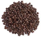 tło biel bobowy kawowy Obrazy Stock