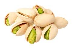 t?o biel odosobniony pistacjowy Jedzenie fotografia stock