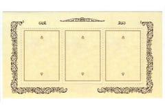 tło biel stary papierowy pocztowy fotografia royalty free