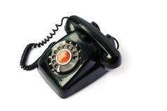 tło biel stary telefoniczny Fotografia Royalty Free
