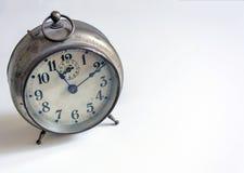 tło biel zegarowy stary Zdjęcie Stock