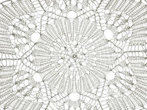 Tło bielu koronki wzór zdjęcia stock