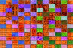 Tło binarny abstrakt. Obraz Stock