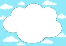 tło chmura ilustracja wektor