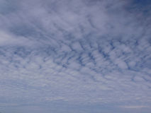 tło chmury Zdjęcia Royalty Free