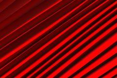 Tło czerwone 3d abstrakta fala Obrazy Stock