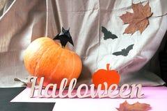 Tło dekoracja Halloween Obrazy Stock
