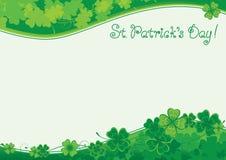 Tło dla St Patrick ` s dnia Obraz Royalty Free