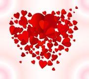 tło dnia s kierowy valentine Fotografia Royalty Free