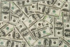 tło dolarów Zdjęcia Stock