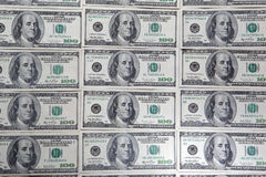 tło dolar Obraz Royalty Free