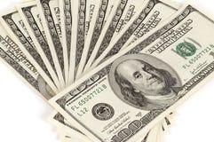 tło dolary my Zdjęcie Stock