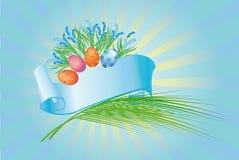 tło Easter Fotografia Stock