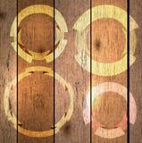 tło etykietki texture drewno Zdjęcia Royalty Free