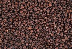 Tło fasole kawowe Zdjęcia Stock