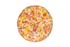 tło fast - pizzy obrazu szereg białych obraz royalty free