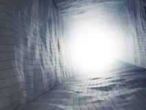 tło futurystyczny abstrakcyjne Fotografia Royalty Free