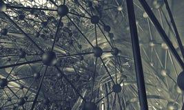 tło futurystyczny 3 d Zdjęcia Stock