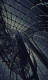 tło futurystyczny 3 d Obraz Royalty Free