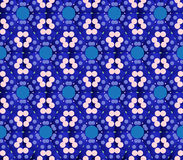 tło geometrycznego abstrakcyjne Obrazy Royalty Free