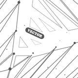 tło geometrycznego abstrakcyjne Obrazy Stock