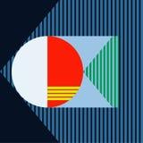 tło geometrycznego abstrakcyjne ilustracja wektor