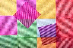 tło geometrycznego abstrakcyjne Zdjęcia Royalty Free