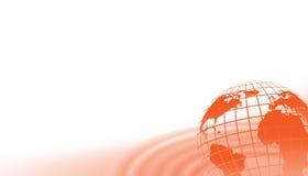 tło globalny Zdjęcie Stock