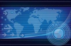 tło globalny Obrazy Stock