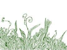 tło grafika rabatowa kwiecista Obraz Stock