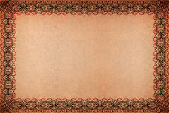 tło grungy papierowy pergaminowy rocznik Zdjęcia Royalty Free