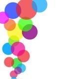 tło gulgocze kolorowego Zdjęcia Stock