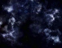 Tło gwiazdowy niebo Obraz Royalty Free