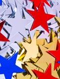 tło gwiazdy Fotografia Stock