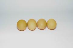 tło jajka odizolowywali biel Zdjęcia Royalty Free