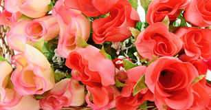 Tło jedwabniczy kwiaty Fotografia Royalty Free