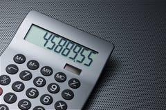 tło kalkulator Fotografia Stock