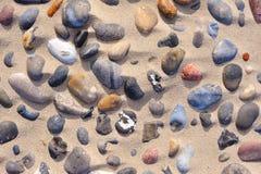 tło kamienie Fotografia Stock