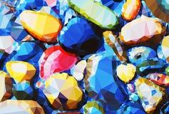 Tło kamienie Zdjęcie Royalty Free