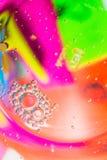 Tło Kolorowa plama Obraz Stock