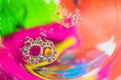 Tło Kolorowa plama Fotografia Royalty Free