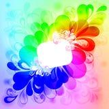 tło kolorowy Obraz Royalty Free