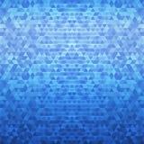 Tło koloru mozaiki trójboków abstrakcjonistyczna grafika design2 Zdjęcia Royalty Free