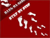 tło krok Zdjęcia Stock
