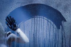 tło kropli wody Fotografia Royalty Free