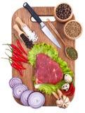 tło kulinarny Obrazy Stock