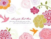 tło kwiat Zdjęcia Royalty Free